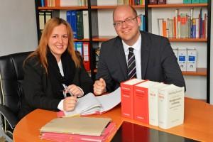 Rechtsanwälte Stefanie Boss und Thomas Meyer Kanzlei Bielefeld