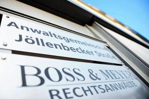 Außenansicht Kanzlei Boss & Meyer in Bielefeld